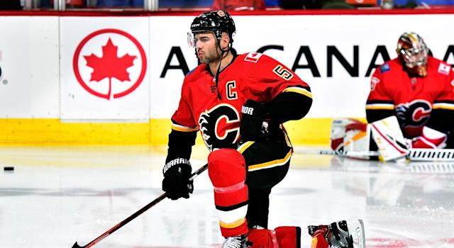 Mark Giordano has won the Norris Trophy. (Getty)