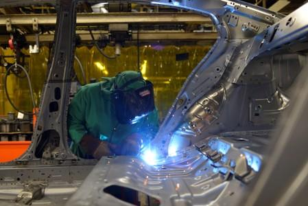 U.S. manufacturing mired in soft patch as orders, shipments fall