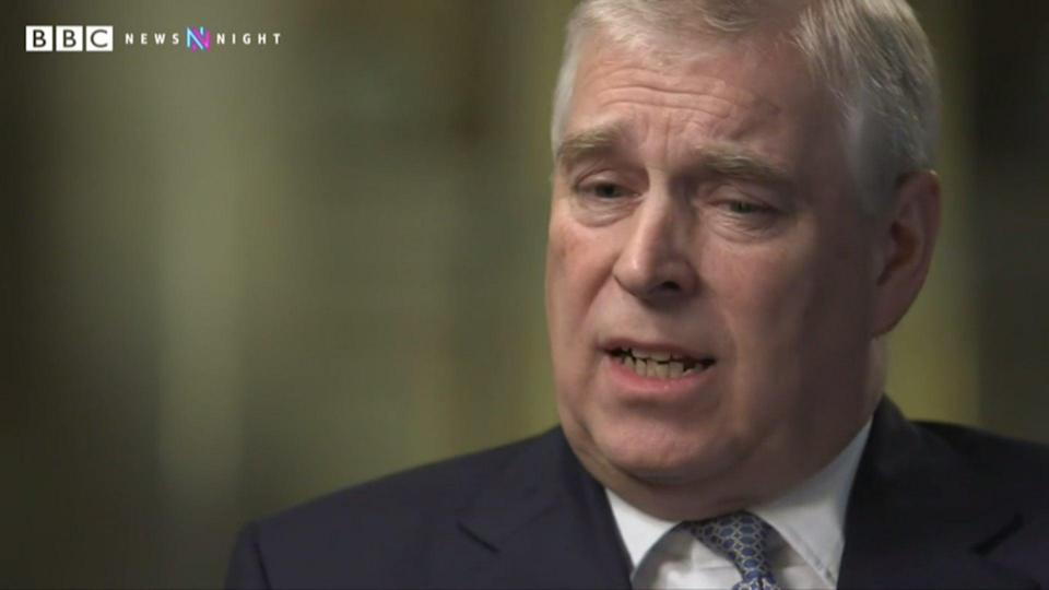 Maitlis interviewed the Duke of York about his association with Jeffrey EpsteinBBC