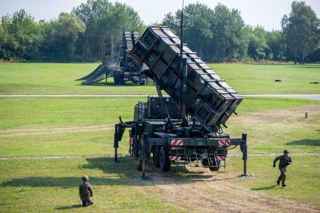 """Air defence missile group 21 with """"Patriot"""" system"""