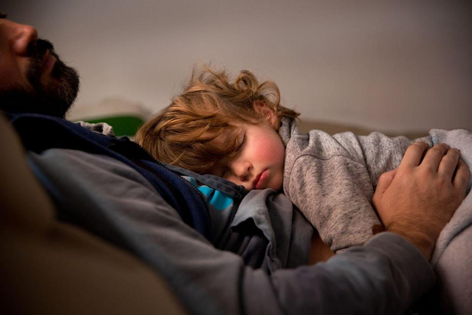"""<p>Anxiety in slightly older children may be a bit easier to spot than anxiety in toddlers. For one thing, no one really expects an innocent toddler to deal with something heavy like anxiety. The signs also present differently in toddlers.</p><p>According to <a href=""""https://psychcentral.com/blog/is-your-toddler-struggling-with-anxiety-what-you-need-to-know/"""" rel=""""nofollow noopener"""" target=""""_blank"""" data-ylk=""""slk:Psych Central"""" class=""""link rapid-noclick-resp"""">Psych Central</a>, one sign of anxiety in a toddler is that they seem to be going through some sort of regression, which basically means that they're acting younger than they actually are out of nowhere. For example, you might notice that, even though they've been feeding themselves with no problem for months, they suddenly want and need you to feed them. Or maybe they gave up the pacifier months ago, and suddenly they want it back. </p>"""