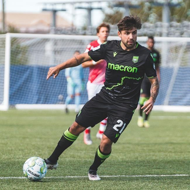Winger Michael Petrasso signs two-year extension with York 9 FC of the CPL