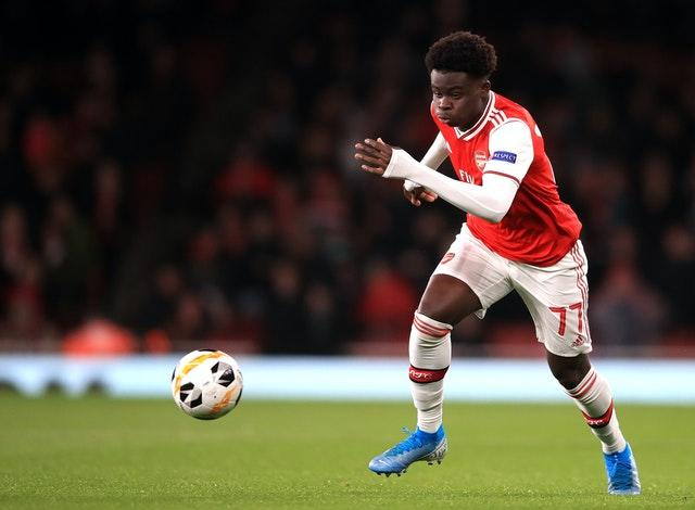 Arsenal's Bukayo Saka could force his way into Southgate's thinking after a good end to the season.