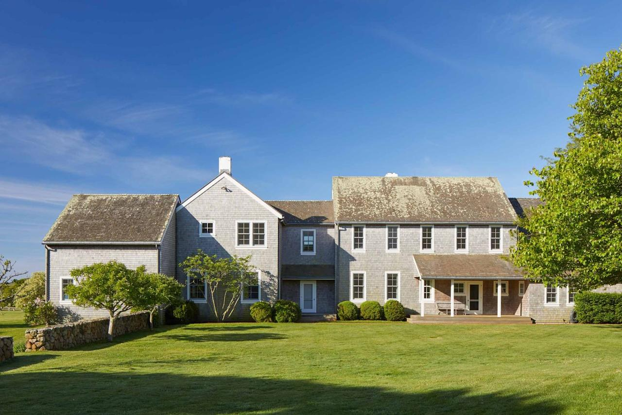 <p>Hugh Newell Jacobsen designed the main Cape Cod-style residence. Bunny Mellon, who designed the White House Rose Garden during Jackie's time as the first lady, is responsible for the property's beautiful landscaping.<br></p>