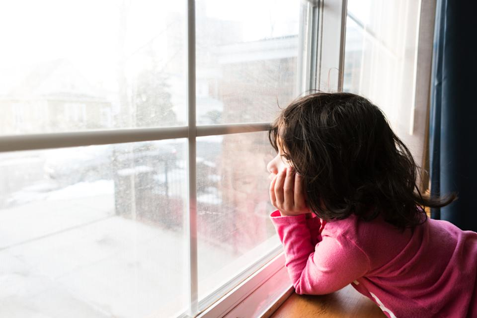 Keep children occupied indoors while the weather isn't so good. (Getty Images)