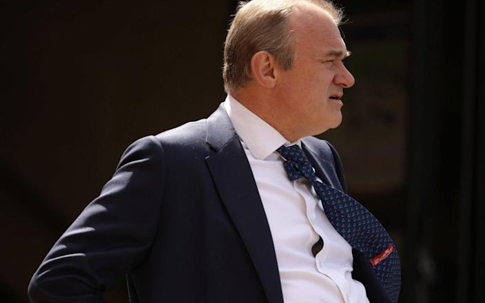 Sir Ed Davey, the Liberal Democrats leader, campaigns in London - Getty