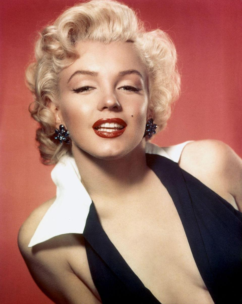 """<p>The age of the blonde bombshell was ushered in by no other than <a href=""""http://www.goodhousekeeping.com/beauty/a32757/young-marilyn-monroe-brown-hair/"""" rel=""""nofollow noopener"""" target=""""_blank"""" data-ylk=""""slk:Marilyn Monroe"""" class=""""link rapid-noclick-resp"""">Marilyn Monroe</a>, the most famous of them all.</p>"""