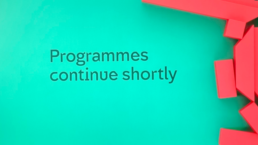 Channel 4 had some problems on Wednesday night. (Screengrab from Twitter)
