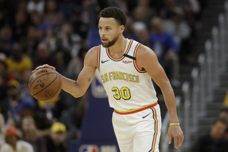 Warriors star Steph Curry tested positive for the flu on Saturday, but has 'no specific risk factors for' the coronavirus.