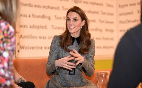 The Duchess of Cambridge visiting the Foundling Museum to understand how they use art to make a positive contribution to society  - Credit: Eddie Mulholland