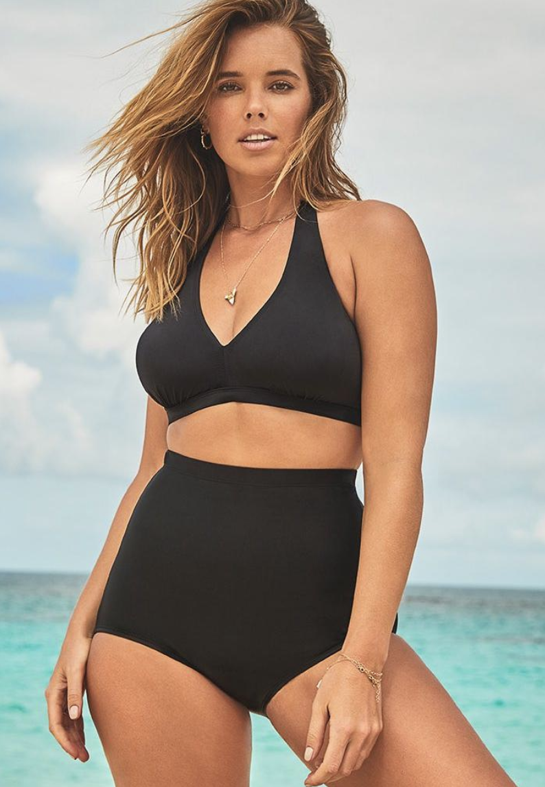 "<p><strong>Swimsuits For All</strong></p><p>swimsuitsforall.com</p><p><strong>$45.00</strong></p><p><a href=""https://go.redirectingat.com?id=74968X1596630&url=https%3A%2F%2Fwww.swimsuitsforall.com%2Fproducts%2Fdiva-halter-high-waist-bikini-set%2F2400-01443-9999.html&sref=https%3A%2F%2Fwww.goodhousekeeping.com%2Fclothing%2Fbest-swimsuits%2Fg26412910%2Fswimsuits-for-big-busts%2F"" rel=""nofollow noopener"" target=""_blank"" data-ylk=""slk:Shop Now"" class=""link rapid-noclick-resp"">Shop Now</a></p><p>The soft sewn-in cups provide excellent coverage and lift in this halter style from Swimsuits For All. Sold as a set, <strong>you can choose different sizes for the top and bottoms</strong>. Reviewers especially love that the bottoms are ""VERY high-waisted"" for a more modest look. </p>"