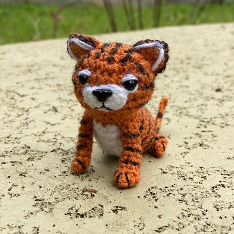 Thomas the Tiger Free Amigurumi Pattern | Crochet patterns amigurumi, Amigurumi  pattern, Crochet toys patterns | 794x794