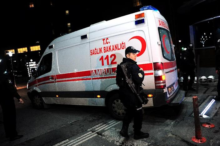 A senior Turkish prosecutor and his two hostage-takers were killed when security forces launched an operation to free the official in a bloody end to a six-hour standoff in Istanbul (AFP Photo/Ozan Kose)