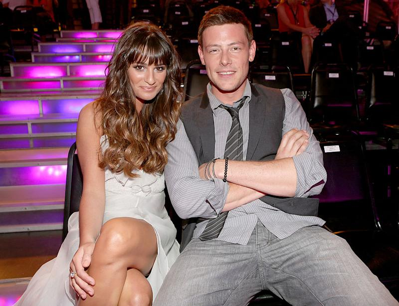 Lea Michelle and Cory Monteith (Photo: Getty Images)