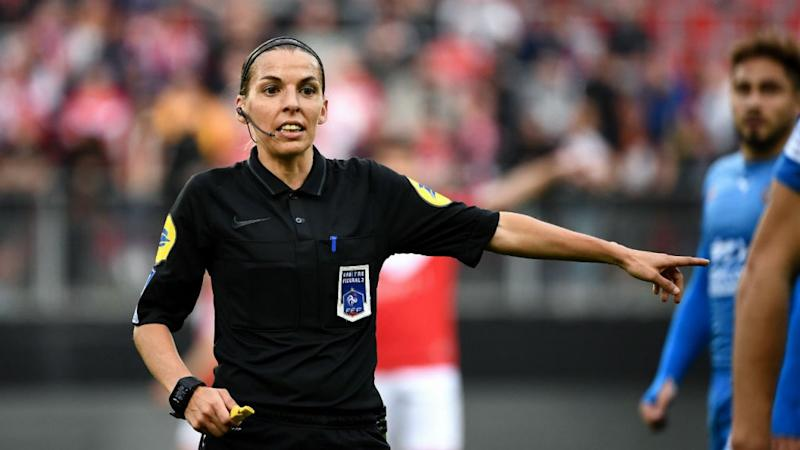 Frappart to become first female referee in France's top football league