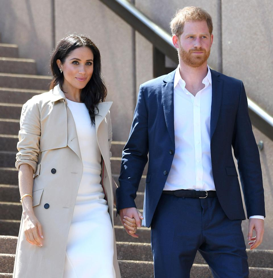 Meghan Markle has decided to take a break from some of the engagements on the couple's royal tour, as pregnancy 'takes its toll' on her. Photo: Getty Images