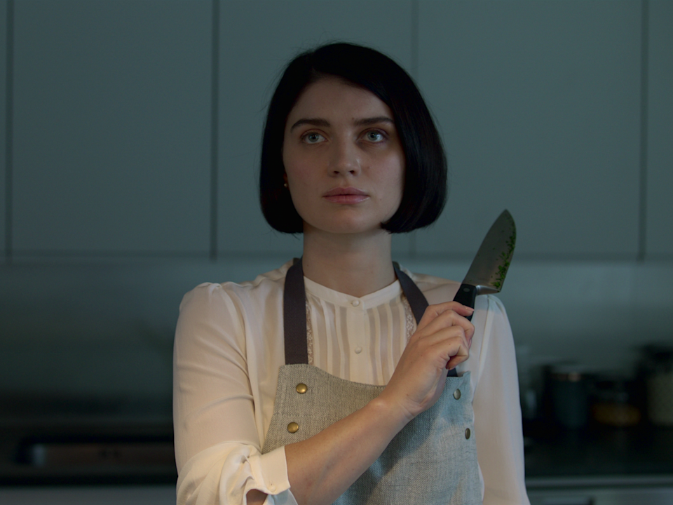 <p>Adele is not who we think she is: Eve Hewson in 'Behind Her Eyes'</p> (Netflix)