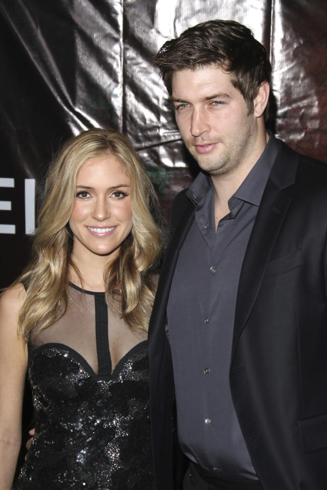 Kristin Cavallari and Jay Cutler at the Opening Night Of Cirque du Soleil's 'OVO' at the Santa Monica Pier on January 20, 2012 in Santa Monica, California. © mpi21 / MediaPunch Inc. /IPX