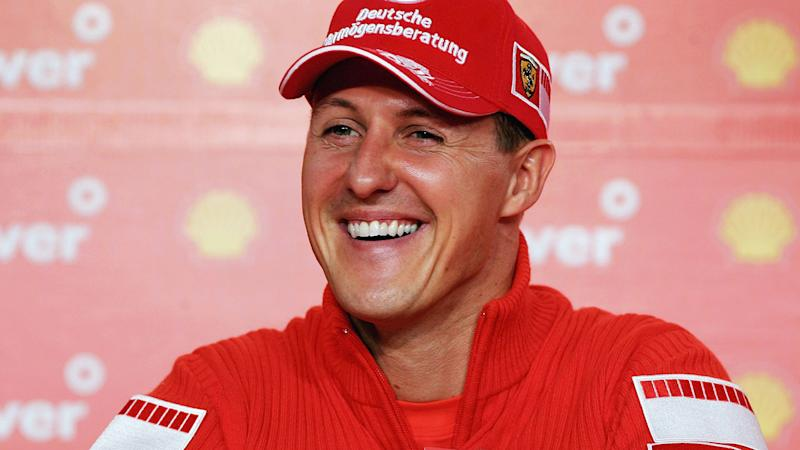 Michael Schumacher, pictured here at the Brazilian Grand Prix in 2006.