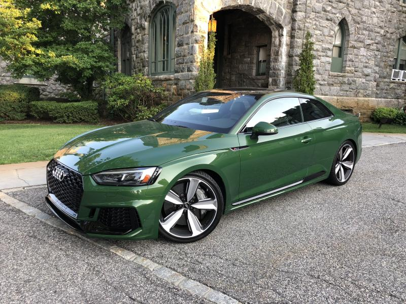 Taking the 2018 Audi RS 5 through its paces