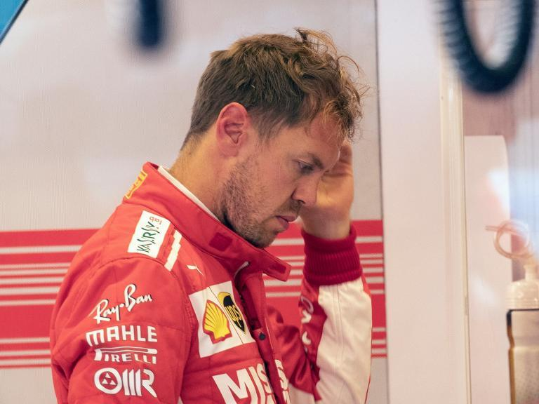 US Grand Prix: It never rains but it pours for Ferrari as Lewis Hamilton continues to walk on water