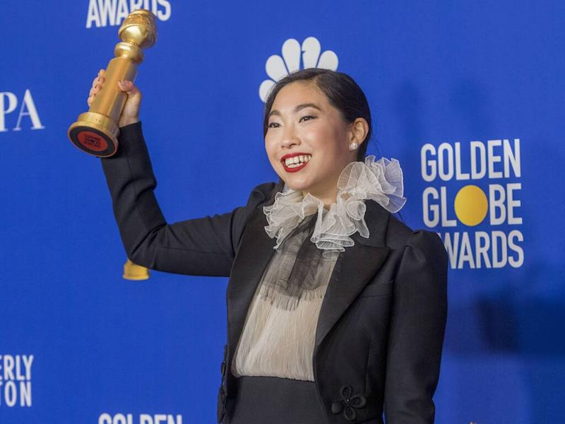 Awkwafina 'genuinely shocked' by Golden Globes success