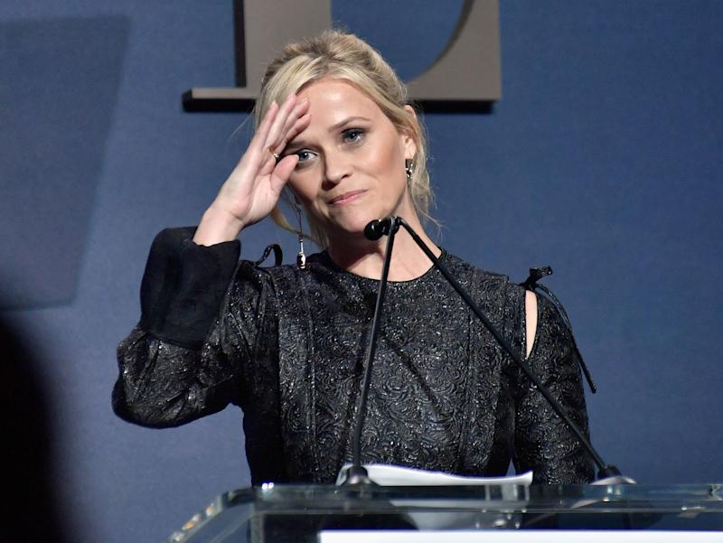 "Reese Witherspoon told the audience at Elle's Women In Hollywood celebration that women coming forward made her ""want to speak up and speak up loudly"" about her own experiences being sexually abused."