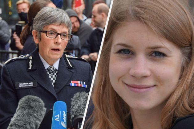 Dame Cressida Dick, chief commissioner of the Met Police, and Sarah Everard (Photo: Getty/PA)