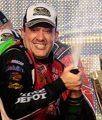 Tony Stewart won his third career Cup championship in 2011