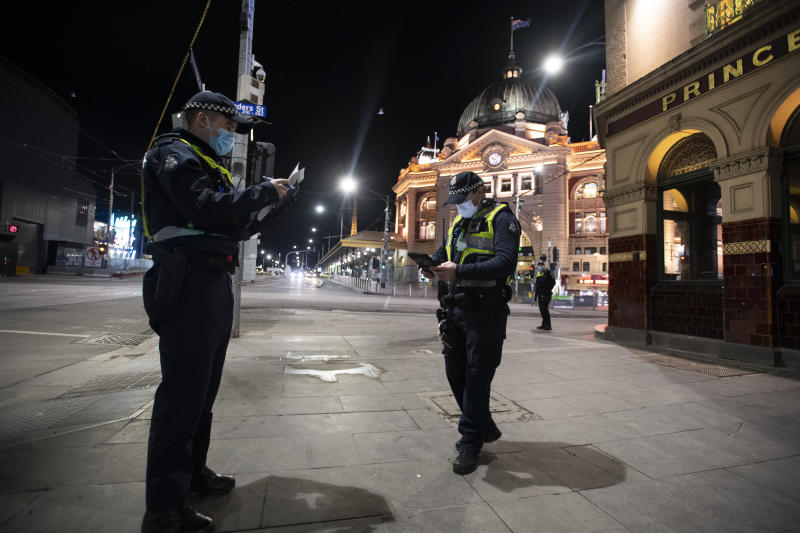 "Victoria Police's ""preference"" not work the quarantine hotels influenced the decision to hire private security. Source: AAP"