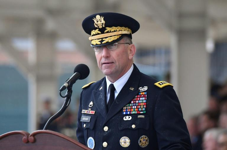 Incoming commander General Robert B. Abrams has vowed to continue Washington's 'ironclad relationship' with Seoul