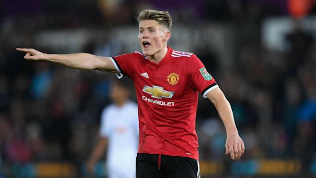 Scotland and England are both keen on the Man United midfielder and his club coach wants the 21-year-old to follow his heart in making a choice