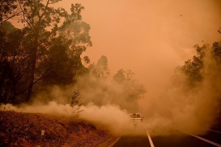 For many who have fled the fires, there is uncertainty about whether their homes will be standing when they return (AFP Photo/PETER PARKS)