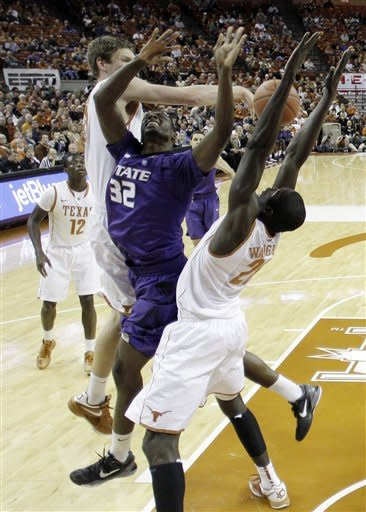 Brown's 23 lead Texas over Kansas State 75-64