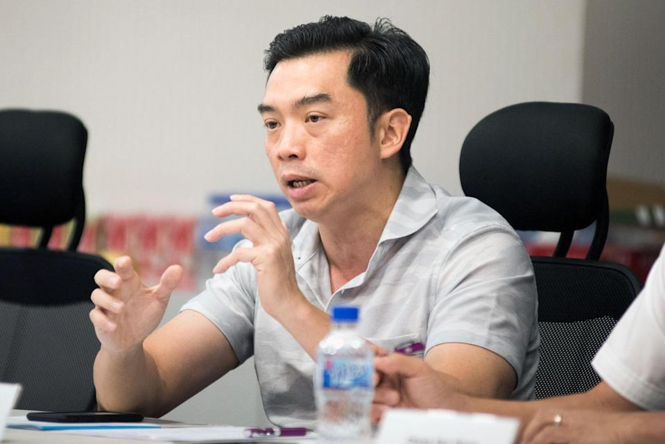 Lien Foundation chief executive officer Lee Poh Wah. (PHOTO: Stefanus Ian for Yahoo News Singapore)
