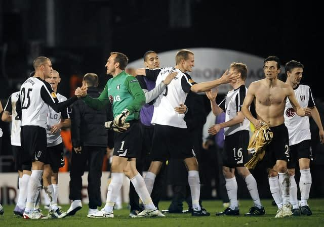 Fulham beat Juventus 4-1 in one of their most famous nights in the club's history (Rebecca Naden/PA)