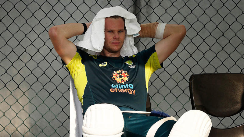 Cricket Australia is working with Steve Smith to help him sleep better during Test Matches. (Getty Images)