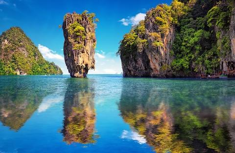 If you're worried about the Christmas doldrums, get out on the water in Thailand - Credit: Banana Republic - Fotolia/CHERNOV SERGEY