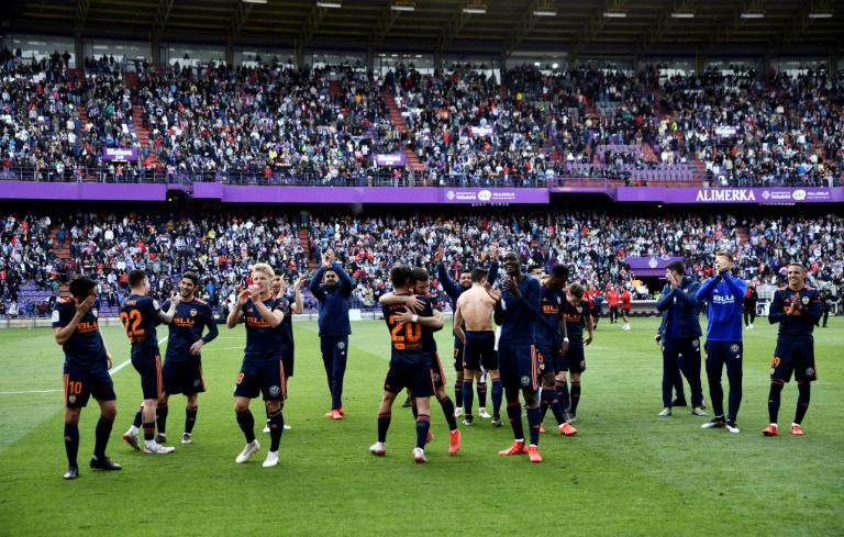 Valencia beat Real Valladolid last weekend to secure Champions League qualification
