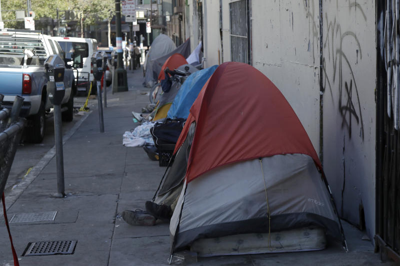 Personas sin hogar en San Francisco (AP Photo/Jeff Chiu)