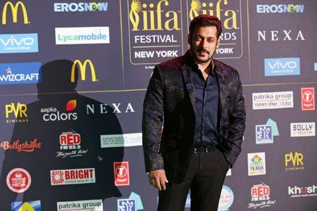 FILE PHOTO: Actor Salman Khan poses for a picture on the Green Carpet at the International Indian Film Academy (IIFA) Awards show at MetLife Stadium in East Rutherford, New Jersey, U.S., July 15, 2017. REUTERS/Joe Penney
