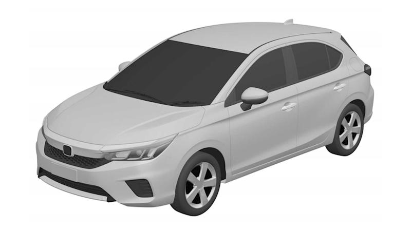 Honda City Hatch - Registro no INPI