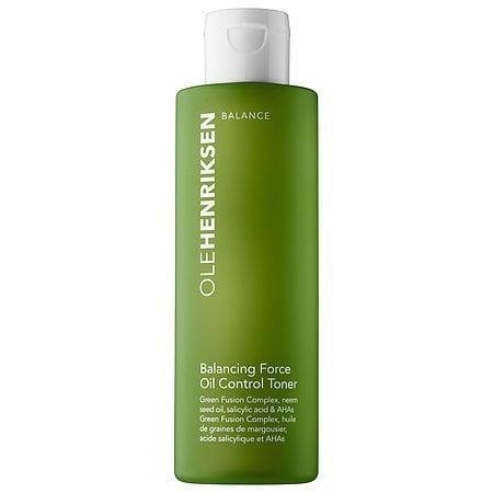<p>The <span>Ole Henriksen Balancing Force Oil Control Toner</span> ($29) is kind of the workhorse of all workhorse toners, with both BHA and AHAs (that's salicylic, glycolic, and lactic acids to you, folks) that annihilate oil in one fell swoop.</p>