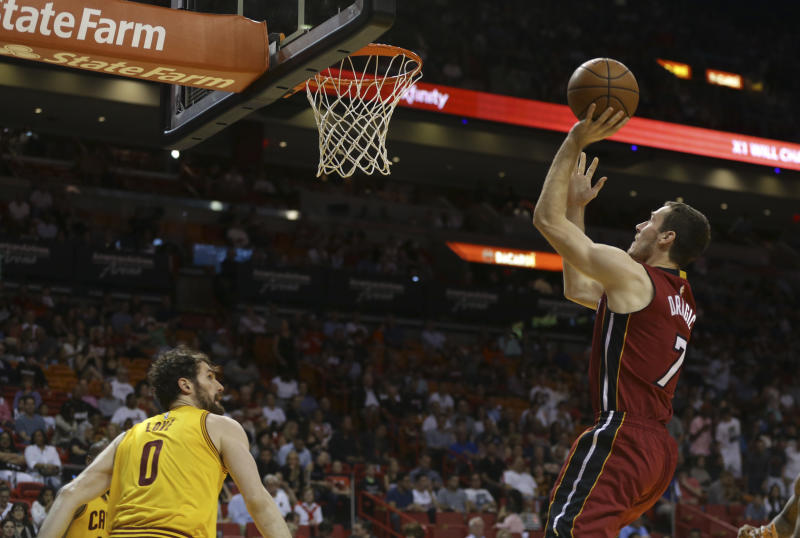 Dragic to replace injured Love in NBA All-Star Game