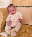 <p>Samantha Faiers may have welcomed her second child – a daughter – with partner Paul Knightley at the start of November, but it has taken until now for the couple to decide on a name. <br>Taking to Instagram, the Mummy Diaries star shared a sweet snap of her newborn dressed in a cute babygro, which she captioned simply: 'Rosie Knightley' alongside a flower emoji. <em>[Photo: Instagram/samanthafaiers]</em> </p>
