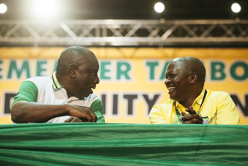 Ramaphosa Elected South Africa President as Deputy's Post Unsure
