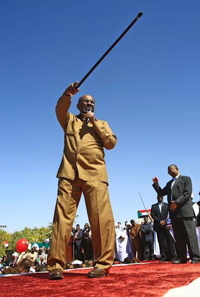 Sudan's President Omar al-Bashir is accused of genocide (AFP Photo/ASHRAF SHAZLY)