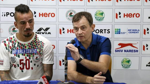 The Spanish coach was satisfied with the three points against a difficult opposition like Churchill Brothers...