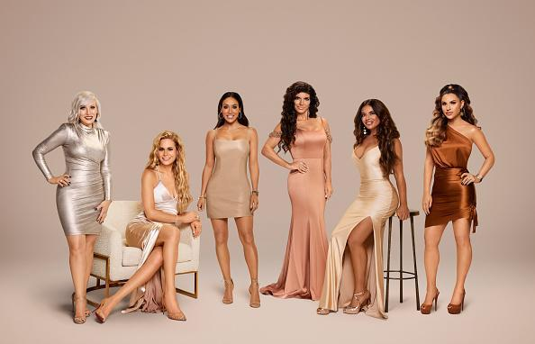 "The Real Housewives of New Jersey Season 11 - Pictured: (l-r) Margaret Josephs, Jackie Goldschneider, Melissa Gorga, Teresa Giudice, Dolores Catania, Jennifer Aydin<span class=""copyright"">Rodolfo Martinez—Bravo/NBCU Photo Bank/Getty Images</span>"