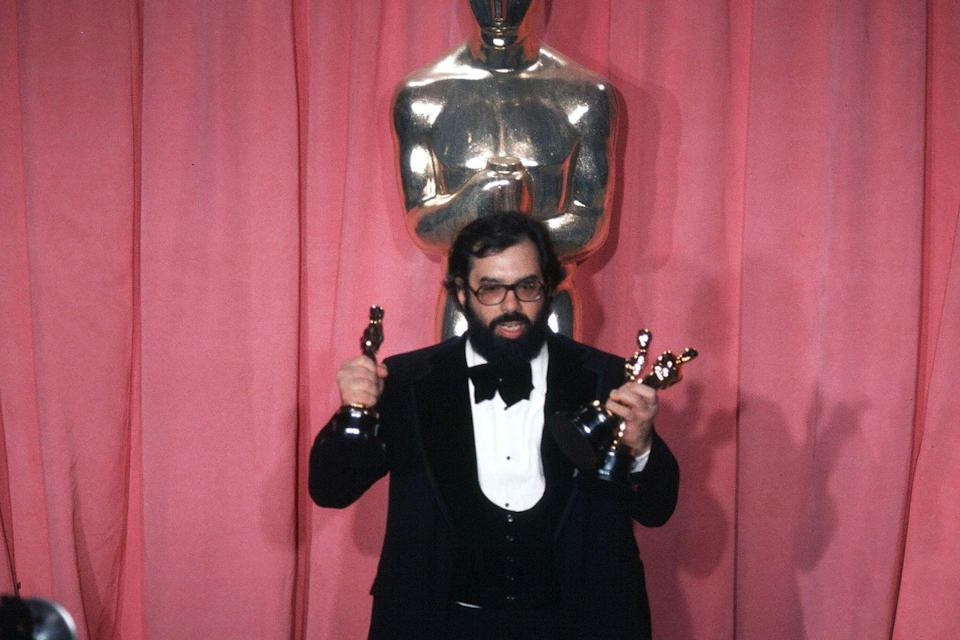 "<p>Francis Ford Coppola took home Best Picture, Best Director, and Best Adapted Screenplay for <em><a href=""https://www.amazon.com/Godfather-Part-II-Al-Pacino/dp/B007CJOXPK/ref=sr_1_1?s=instant-video&ie=UTF8&qid=1547579685&sr=1-1&keywords=The+Godfather+Part+II&tag=syn-yahoo-20&ascsubtag=%5Bartid%7C10055.g.5132%5Bsrc%7Cyahoo-us"" rel=""nofollow noopener"" target=""_blank"" data-ylk=""slk:The Godfather Part II"" class=""link rapid-noclick-resp"">The Godfather Part II</a></em>. </p>"